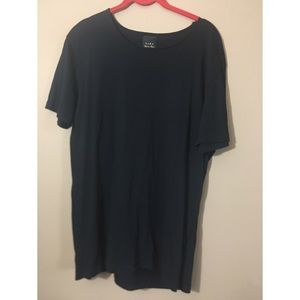 Black Zara Man Deluxe Black T shirt size XL